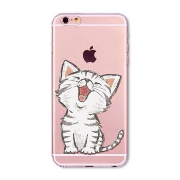 เคส Cute Cat ใสนิ่มบาง